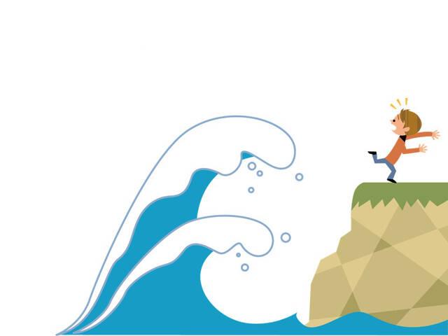 予想以上の津波の威力。最善の行動が命を救う